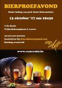 Bierproefavond bij sportgroep Vaste Vuist Lauwe